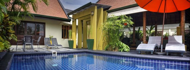 Lovely salt water swimming pool