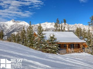 Big Sky Moonlight Basin | Cowboy Heaven Cabin 15 Rustic Ridge