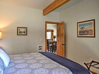 NEW! R Lazy S Inn Columbia Falls 2BR Apt w/ Mtn Views & Deck!