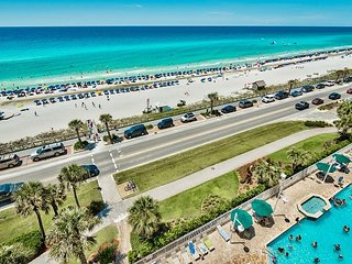 GULF VIEW Majestic Sun Condo * Beach Resort Pool/HotTub, Gym + FREE VIP Perks