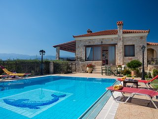 4 bedroom Villa in Kallithea, Crete, Greece : ref 5217993