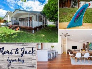 Flori & Jack Beach House - Byron central home
