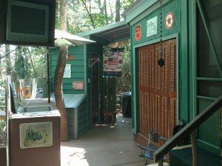 Einzelkabine in den Walden
