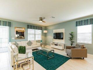 9073HS. Stunning 9 Bedroom ChampionsGate Resort Pool Home