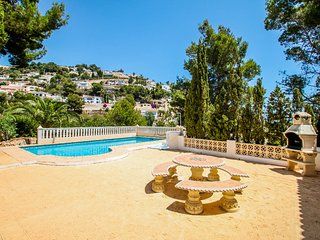 Frajapie - sea view villa with private pool in Moraira