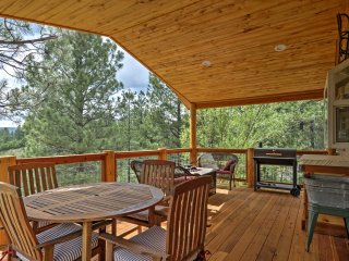 Pagosa Springs Home w/Covered Deck on Greenbelt!