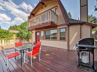 NEW! 3BR Big Bear City House w/ Vast Deck & Views!