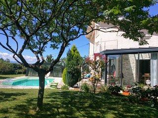 Grand appartement esprit chalet - Piscine chauffee - animaux bienvenus - Geneve
