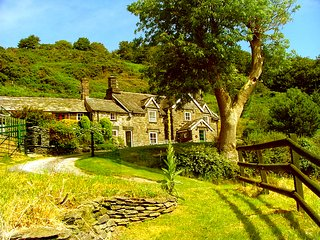4 bed 18 Century Welsh Farmhouse  with swimming pool and wonderful views
