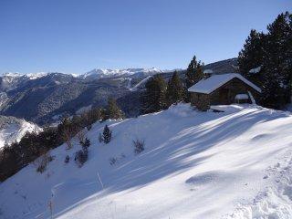 Alojamiento situado a 1870 metros de altura