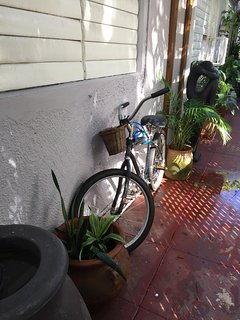 We provide FREE bikes and locks to our guests (as available)