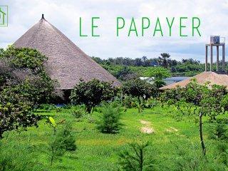 Ecolodge Le Papayer : Villa VIP bord de mer a Cap Skirring en Casamance Senegal