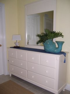 Dresser area of Master bedroom
