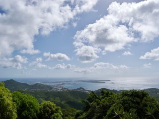 NEW! Pic Paradis Villa, views from top of island!