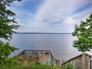 Isle La Motte House w/Dock on Lake Champlain!