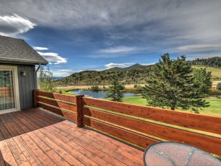Luxurious, 4000 SF Home Mountain & Golf Course Views! 2 Fireplaces with Private