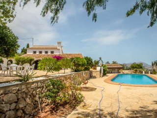 Finca Baile del Sol - sea view villa with private pool in Teulada