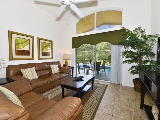 4452NP. 4 Bedroom Pool Home with Games Room and Backs To A Quiet Conservation Ar