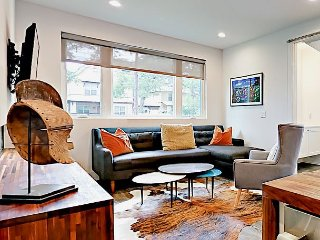 Hip South 1st Home w/ Balconies & Yard – Walk to Dining & SoCo Entertainment