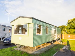8 berth caravan at Cherry Tree Holiday Park, in Great Yarmouth. REF 70702