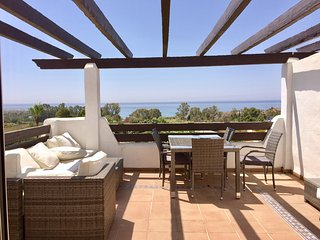 SOUTH FACING brand new top floor apartment with PANORAMIC SEA and MOUNTAIN VIEWS