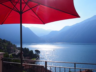 Casa LaDimora-Rosmarino - AMAZING view on Lake! (3 bedrooms, 2 bathrooms 6pers)