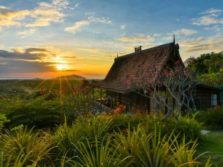 Basuki, wooden romantic house