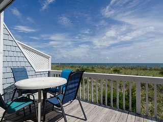 Superb oceanfront townhouse with shops and dining just around the corner