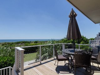 Enjoy relaxing water views and ocean breeze at this oceanfront condo oasis