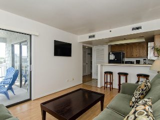 Affordable oceanview condo with a short walk to the beach