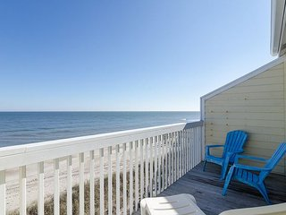 Enjoy the resort amenities at this oceanfront condo with pool
