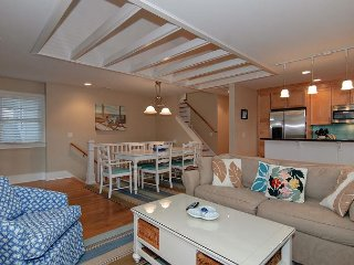 Well designed and appealing home only 1 block from both the ocean & sound!