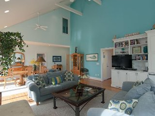 Charming single family home on a quiet cul-de-sac, just steps to the beach.