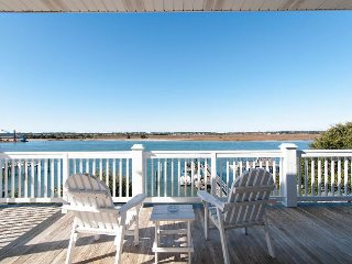 Comfortable soundfront home offering relaxing sound views with boat dock