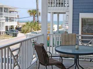 Enjoy casual elegance at this oceanside duplex in central Wrightsville