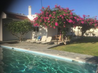 Villa Frangipani with large private pool for a great escape to southern Rhodes
