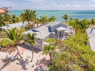 Private Beachfront Home with Fishing Dock and Amazing Waterfront Views
