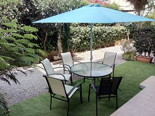 Albir beach apartment, newly renovated 2 bedroom, ground level, ideal location