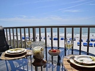 Beachfront views are yours!