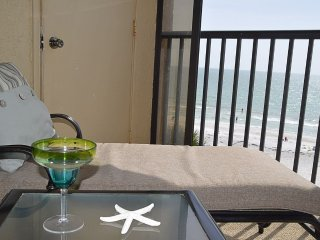 Sandcastle III #502 Updated 3BR/2BA Beachfront Indian Shores