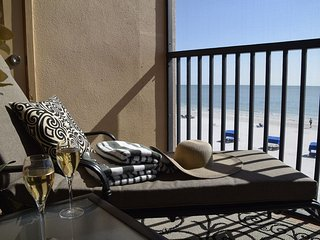 Villa Madeira #309 Madeira Beach Updated 3 bedroom Beachfront