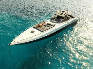 Yacht charter in Ibiza Sunseeker Superhawk 48 '007'