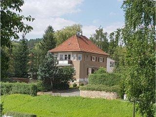 Ferienwohnung Villa Sonnenschein, 2 Schlafzimmer mit 4 Betten.