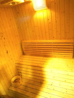 Sweat it out at sauna place