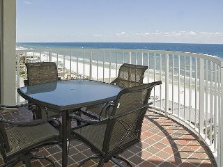 GULFSIDE 1101 3 BEDROOM 3 BATH! GULF FRONT! INCLUDES BEACH SERVICE!!!
