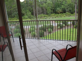 Gated Golf Course Community Veranda Overlooking the 7th tee