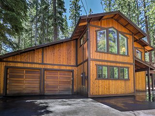 NEW! 4BR Truckee Cabin near Tahoe Donner Ski Area!
