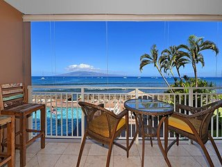 Lahaina Roads 209 - 1 Bedroom Ocean Front - Amazing Sunset Views!