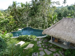 Hauma, 3 Bedroom Luxury Villa, rice field views, Ubud