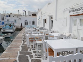 Fairy-tale Seafront Cycladic home
